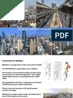 Redevelopment of Mumbai