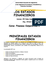 3.1 Los Estados Financieros