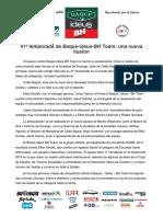 Baqué Ideus BH Team Dossier 2019