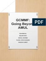 GCMMF Going Beyond AMUL Ppt