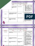 PREESCOLAR Plan de Estudios