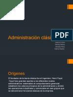 Administración clásica