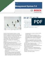 BoschVMS Data Sheet EnUS 23721020811