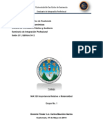 T31 - NIA 320 Importancia Relativa o Materialidad
