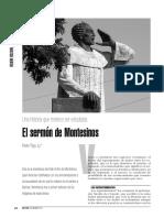 Discurso de Montesinos