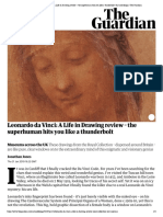 Leonardo Da Vinci_ a Life in Drawing Review – the Superhuman Hits You Like a Thunderbolt _ Art and Design _ the Guardian