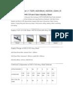 New 4140 Alloy Steel