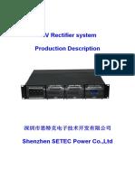 48V Rectifier System