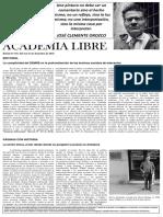 Academia Libre - Boletín 270