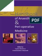 Handbook of Anaesthesia & Peri-Operative Medicine.epub