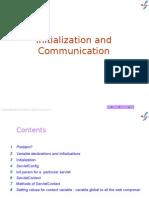 3  Initialization and Communication