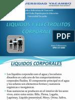 Liquidos y Electrolitos Corporales