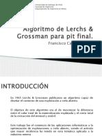 Algoritmo de Lerchs & Grossman Para Pit Final