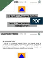 Señalisacion y colores de advertencia  proteccion civil