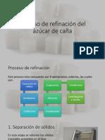 Proceso de Refinación Del Azúcar de Caña