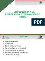 1.1 Introducción a La Perforación y Terminación de Pozos