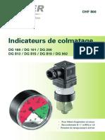 OHF 800 Verschmutzungsanzeigen f