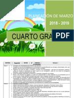 Planeacion de marzo - 4to Grado 2018-2019.docx