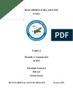 Psicologia General 1 Tarea I.docx