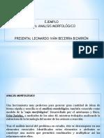 Ejemplo Analisis Morfológico (1)