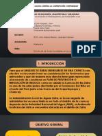 Analisis hidráulico Cuenca río zaña