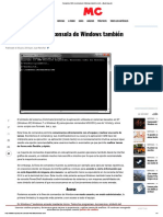 Comandos CMD, La Consola de Windows También Existe » MuyComputer