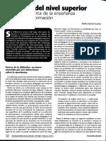 1. Suárez, Didáctica Del Nivel Superior