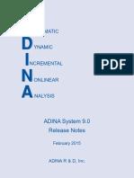 ADINA System 9.0