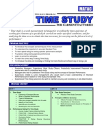 Time Study