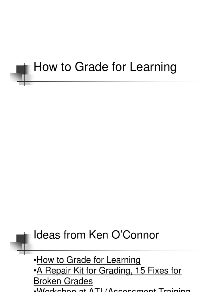 A Repair Kit for Grading: 15 Fixes for Broken Grades