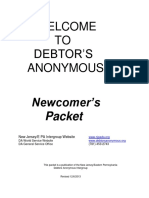 New Newcomers Packet 2013