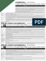 Racionamiento Electrico Abril 2019 (Zulia)