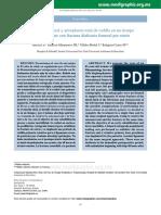 Enclavado femoral y artroplastía total de rodilla en un tiempo en una paciente con fractura diafisaria femoral por estrés.pdf
