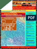 Boletín Emancipación Obrera