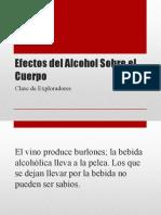 Efectos Del Alcohol Sobre El Cuerpo