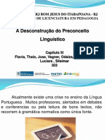 Descontruçao Do Preconceito Linguistico