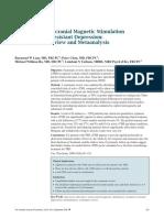 Transcranial Magnetic Stimulation for Depression