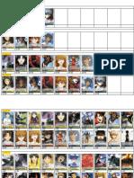 Catalogo Evangelion p Animetcg Japan