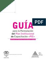 GuiaFormulacionPlanInstitucionalCapacitacionPIC.pdf