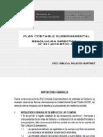 Plan Contable Gubernamental 2018