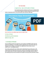 Promote Your App for Free – Zero to 1M Installs in 9 Weeks