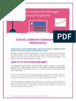 Guía Del Community Manager Para Principiantes