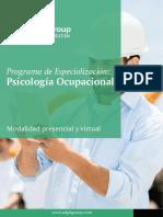 Brochure Ocupacional