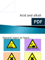 Acid and Alkali New