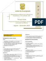 Temario Musica Universidad Guanajuato Ug Ugto 2019