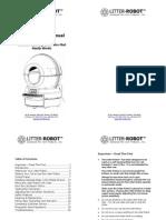 Litter Robot II Manual V090106