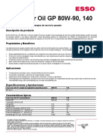 Esso Gear Oil GX
