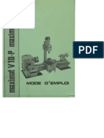 EMCO Maximat V10P Manuel