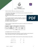 Matematica Clase Ndeg 1 Del 17 de Marzo de 2018
