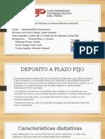 Ppt Plazo Fijo y Certificado Deposito (Final)